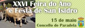 XXVI FEIRA DO ANO E FESTA DE SAN ISIDRO
