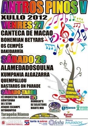 Festival Antros pinos de Rianxo