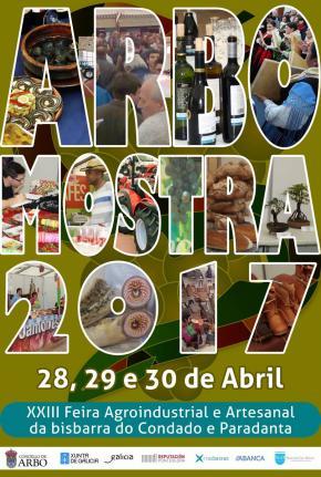 """""""ARBOMOSTRA"""" Feria Agroindustrial e Artesanal da bisbarra do Condado e Paradanta"""