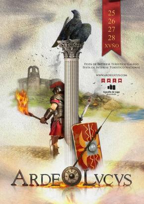 """Arde Lvcvs (Lucus) """"Fiesta de Interés Turístico Galego"""""""