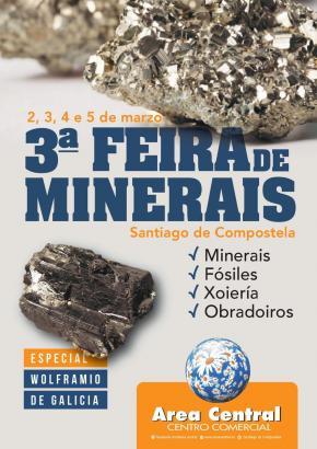 III Feira de minerais de Santiago de Compostela