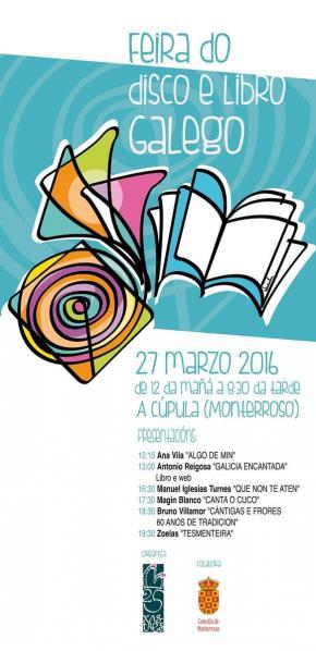 Feira do Libro e do Disco Galego Monterroso 2016