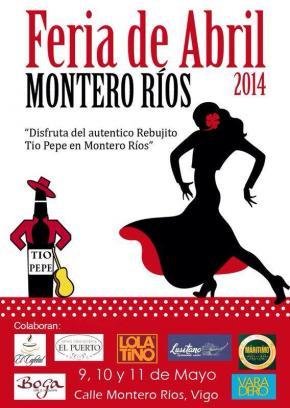 """1º edición de la""""Feria de Abril Montero Ríos 2014""""."""