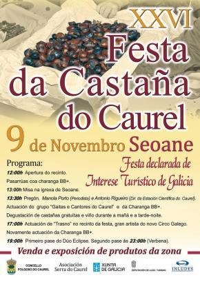 XXVI EDICIÓN DA FESTA DA CASTAÑA DO COUREL
