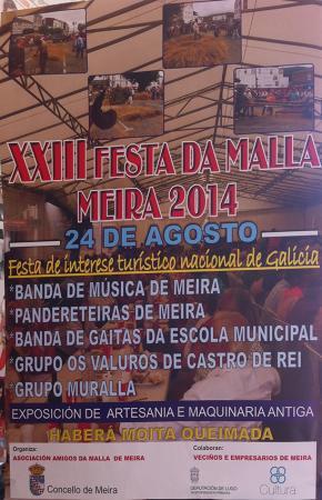 Festa da Malla, Meira