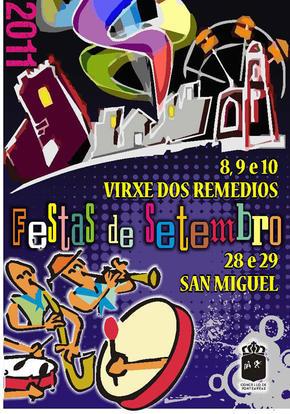 FESTAS PATRONAIS EN PONTEAREAS,  SAN MIGUEL ARCANXO