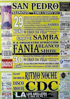 Festas de San Pedro en Corcubión