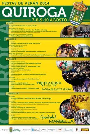 Festas de Verán en Quiroga