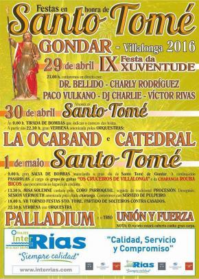 Festas de Santo Tomé de Gondar, VILALONGA