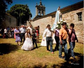 Fiestas en honor a Santa Maria en LABRADA