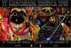 Mascarada Ibérica en Viana do Bolo e en Vilariño de Conso