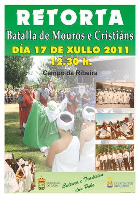 Batalla de Mouros e Cristiánsn en Retorta (Laza)
