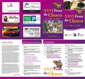 XXVI EDICIÓN DA FESTA GASTRONÓMICA DO CHOCO DE REDONDELA