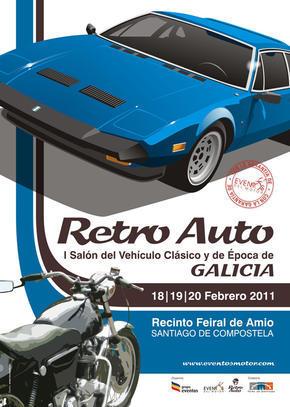 Retro Auto-Moto Galicia, Salón del Vehículo Clásico y de Epoca