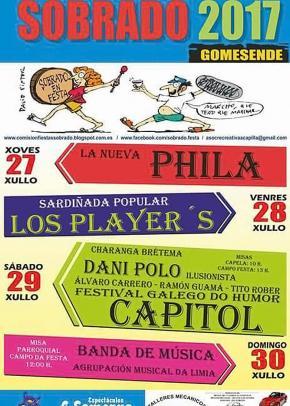 FESTAS EN SOBRADO (GOMESENDE)
