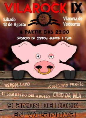 FESTIVAL VILA ROCK en Vilanova de Valdeorras